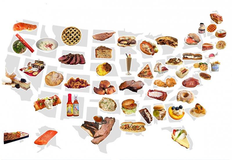 Kulinarna Podroz Po Usa