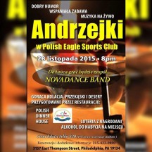 Andrzejki w Polish Eagles Sport Club w Filadelfii